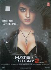 HATE STORY 2 - SURVEEN CHAWLA - JAY BHANSHALI - NEW BOLLYWOOD DVD