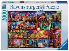 RAVENSBURGER JIGSAW PUZZLE WORLD OF BOOKS AIMEE STEWART 2000 PCS #16685