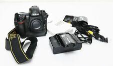 Nikon D3x Digital SLR Camera - Black (Body Only w/EXTRAS) -  92053 shutter NICE!