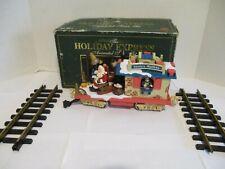 New Bright Holiday Express Animated Train 380-1 Post Office Santa's Mailbox Car