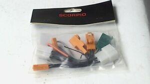 Scorpio Alarm Kawasaki Factory Connector Kit ZX-6R ZX-12R ZRX 1200 ZR750 ZX-9