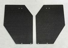 XTREME RACING ARRMA LIMITLESS CARBON FIBER WING END PLATES 2PC (2MM) 100MPH 6S