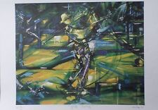 "Duaiv(French) ""Golf Swing"" Golfing Limited Edition Hand Signed Lithograph art"