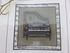 Creative Needlework MUSICAL CHAIR PIANO LOVESEAT Cross Stitch Kit NEW