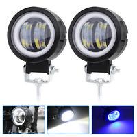2x CREE LED Work Spot Light Car Truck Motorcycle Fog Driving Lamp SUV Universal