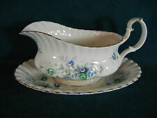 Royal Albert Inspiration Gravy Boat with Separate Under Plate