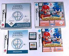 Spiele: Mario & Sonic olymp. Spiele + Dr.Kawashimas Gehirnjogging für DS + Lite