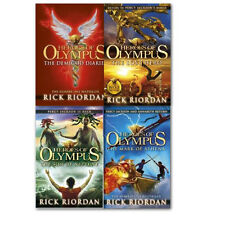 Rick Riordan's Heroes of Olympus Classics Collection 4 Book Paperback ung Adults