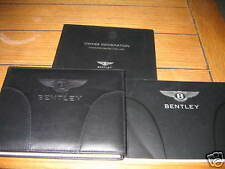2004 BENTLEY CONTINENTAL GT OWNERS MANUAL OWNER'S SET