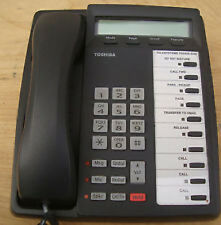 Toshiba DKT3010-SD 10 Tasten Display Telefon schwarz