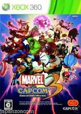 Used Xbox 360 Marvel vs. Capcom 3 MICROSOFT JAPAN JP JAPANESE JAPONAIS IMPORT
