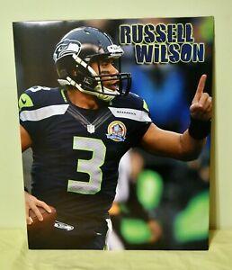 RUSSELL WILSON Seattle Seahawks NFL Football 16x20 Poster