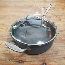 Cuisinart Chef's Classic Nonstick Hard Anodized 3.5 Qt Saute Pan & Lid 633-24H