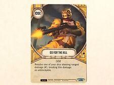 Star Wars: Destiny Awakenings - 2 x Common Go for the Kill #096