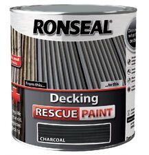 Ronseal RSLDRPCH5L Decking Rescue Paint 5L - Charcoal