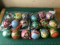 Lot 18 of Mix Disney Parks Christmas Tree Ornament Large Disney Mix Collection