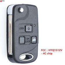 for Lexus ES300 GS300 IS300 1998-2005 Flip Modify Remote Key Fob HYQ1512V - 4C