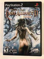 Baldur's Gate Dark Alliance II - Playstation 2 - Replacement Case - No Game