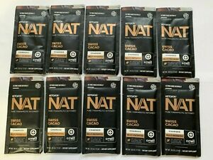 Pruvit Keto OS NAT Swiss Cacao Ketones- 10 OTG Packets- Charged, FREE SHIPPING!
