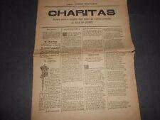 1884 CHARITAS NUMERO UNICO A BENEFICIO ORFANI COLERA NAPOLI DI ALFREDO QUINTO