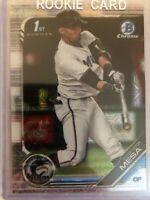 Victor Victor Mesa Rookie RC 2019 1st Bowman Chrome Mojo Refractor Marlins