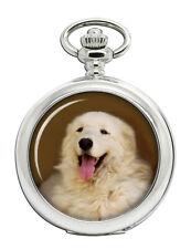 Kuvasz Dog Pocket Watch
