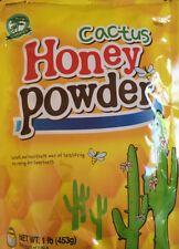 Evergreen Cactus Honey Powder 1LB - Resealable Package Product Of USA