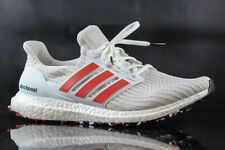 MENS RUNNING SHOE ADIDAS ULTRABOOST DB3199 WHITE RED SIZE: 13
