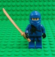 *NEW* Lego Jay Ninjago Ninja Rare Fig Minifigure w Sword Figure Fig x 1
