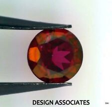 8 MM ROUND CRIMSON RED MYSTIC TOPAZ NATURAL GEMSTONE BRAZIL VERY RICH COLOR AAA