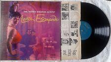 GEORGE SHEARING QUINTET,Latin Escapade,Vinyl LP,1956,US,Capitol,Toots Thielemans