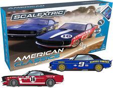 C1362 Scalextric Arco uno American Classics AUTO Gift Set l'utilizzo con telefono o tablet