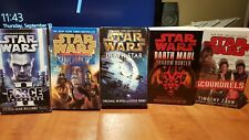 Lot of 5 Star Wars Novels: Death Star, Scoundrels, Shadows of the Empire, etc...