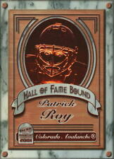2000-01 (AVALANCHE) Paramount Hall of Fame Bound #4 Patrick Roy