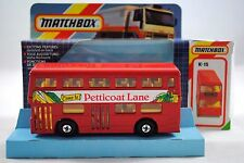 Matchbox SUPERKINGS K-15 LONDON BUS Come To PETTICOAT LANE Livery MINT in Box