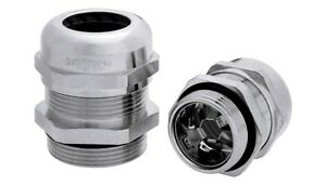 LAPP SKINTOP® 53112650 M32 EMC CABLE GLAND, With FREE Locknut(s). (Pack Qty 5)