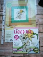 Cross Stitch Pattern Stitch Kit Lickel Ted Spring Greeting Card Small Picture