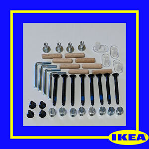 IKEA Sundvik Cot Bed Crib complete set of screws & fixings spare parts