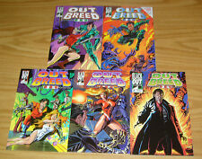 Outbreed 999 #1-5 VF/NM complete series - dell barras - black out breed 2 3 4