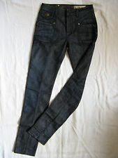 We Are Replay Femmes Blue Jeans Stretch w27/l32 Low Waist Slim Fit Straight Leg