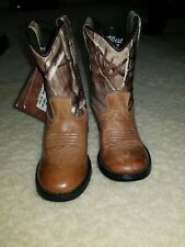 New Toddler Old West (Mismatch) Leather Western Boots