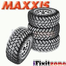 4 Maxxis RAZR MT LT295/70R17 121/118Q E/10 All Terrain Performance Tires New