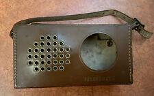 New ListingVintage Telefunken Partner Ii Radio Leather Case
