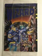Wizard The 100 Most Collectible Comics Fist Edition Magazine Sealed With Card
