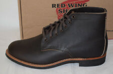 RED WING SHOES 8061 Merchant en Cuir Marron Bottes UK9 made in USA Ebony Redwing