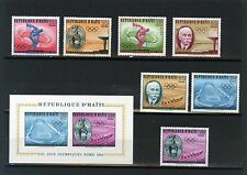 HAITI 1960 SUMMER OLYMPIC GAMES ROME SET OF 7 STAMPS & S/S MNH