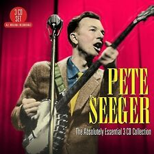 Absolutely Essential 3 Cd Collection - Pete Seeger (2015, CD NEUF)