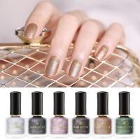 6ml BORN PRETTY Matte Pearlescent Nail Varnish Shimmer Glitter Nail Art Polish