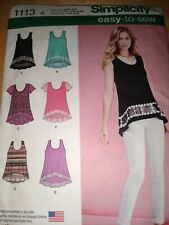Simplicity Pattern Easy To See 1113 xxs-xxl Tunic