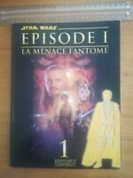 Roman photo star wars EPISODE 1 LA MENACE FANTOME T1 LUCAS FILM 1999 DELCOURT